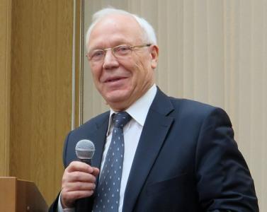 Президент Российской ассоциации геронтологов и гериатров, Академик РАН, д.м.н., профессор В.Н.Шабалин